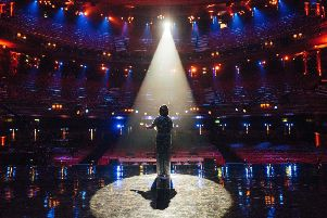 Susan Boyle on stage 'marking 10 years since her original Britain's Got Talent audition