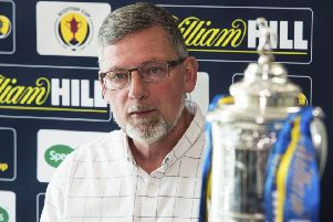 Craig Levein has hit back at claims his Hearts team are one-dimensional