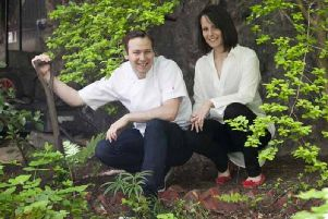 Chef Scott Smith and wife Laura are gaining recognition at their new venture Fhior on Broughton Street