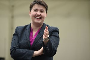 Scottish Conservative leader Ruth Davidson is due to return from maternity leave next month (Picture: Oli Scarff/AFP/Getty Images)