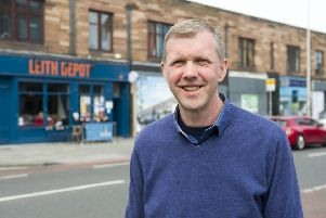 Leith Walk's new councillor Rob Munn (Picture: Ian Rutherford)