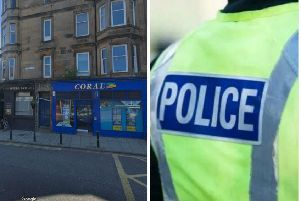 The incident happened this afternoon. Pic: Google Maps/Police Scotland