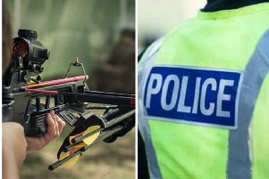 Armed police were called to a report of teenagers with a crossbow in Midlothian. Pic: Kordin Viacheslav - Shutterstock/ Police Scotland