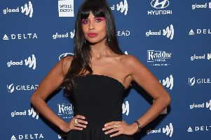 Jameela Jamil is taking a stand on body positivity. Picture: AFP/Getty
