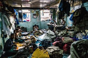 Slavery in a garment factory