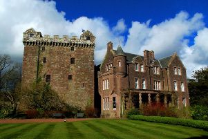 The closure of Comlongon Castle near Dumfries has left brides angered with a number of weddings now no longer going ahead. PIC: www.geograph.org/Creative Commons.