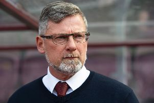 Craig Levein felt his side gave away two silly goals against Rangers