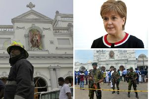 First Minister Nicola Sturgeon said her thoughts were with the bereaved and injured. Pictures: AP/PA