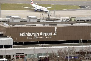 The owners of Edinburgh Airport are said to be eyeing up a �2bn sale of the hub. PIcture: Lisa Ferguson