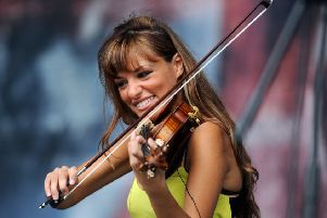 Pictured is Scottish violinist Nicola Benedetti. Pic: Jane Barlow