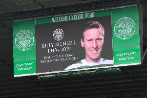 Billy McNeill, nicknamed Cesar, passed away aged 79. Picture: SNS