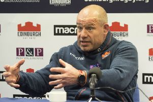 Richard Cockerill says his Edinburgh side must learn to keep backing up their performances. Picture: Craig Foy/SNS/SRU
