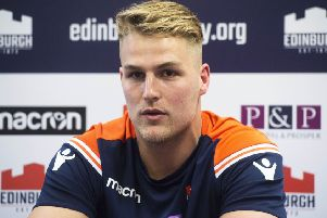 Edinburgh Rugby's Duhan van der Merwe says they will stick to their gameplan