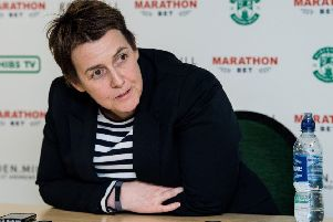 Hibs chief executive Leeann Dempster. Pic: SNS