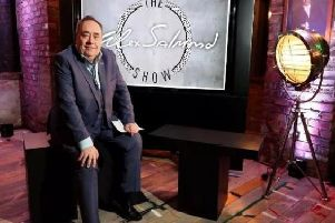 Alex Salmond continues to host a programme on Russia Today