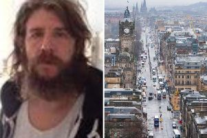 William Robinson has been seen on CCTV in the Princes Street area
