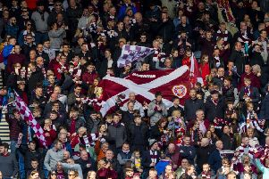 Hearts fans bought more than half the club's Scottish Cup final allocation in an eight-hour period. Picture: SNS Group