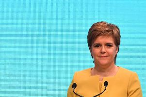 Scotland's First Minister and leader of the Scottish National Party. Picture: Andy Buchanan / AFP /Getty Images