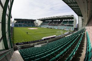 A general view of Easter Road stadium. Picture: SNS Group