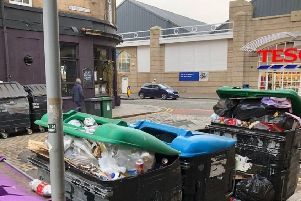 Academy Street has been labelled the 'worst street in the city for rubbish' by Evening News reader Frank Ferri. Picture: Contributed