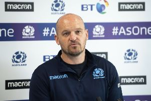 Gregor Townsend has named his training squad for the World Cup. Picture: SNS Group