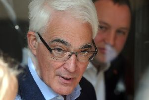 Former Labour chancellor ''Alistair Darling led the campaign for Better Together in the run up to the 2014 referendum on Scottish independence. Picture: Lisa Ferguson