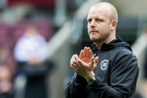 Steven Naismith has spoken about the prospect of signing a permanent Hearts deal. Picture: SNS Group