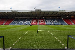 This is the view Hearts and Celtic players will get as they walk out at Hampden