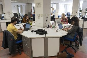 Central Library library have been renting out desks to businesses in innovate scheme.