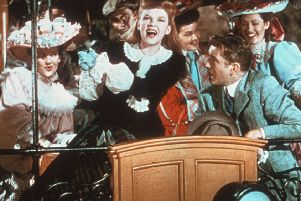 Judy Garland rides the trolley in Meet Me in St Louis. Picture:  Mgm/Kobal/REX/Shutterstock