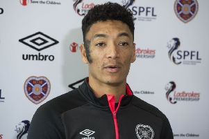 Hearts midfielder Sean Clare is desperate to be in the Cup Final team but worried he won't make it