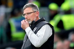 Craig Levein is preparing Hearts for Saturday's Scottish Cup final. Pic: SNS