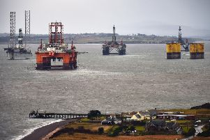 Oil rigs in the Cromarty Firth (Picture: Jeff J Mitchell/Getty Images)