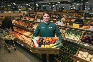 Morrisons is to become the first British supermarket to roll-out plastic free fruit and veg areas in many of its stores