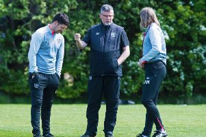 Craig Levein has received a boost in training. Picture: SNS