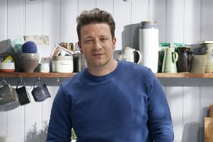 TV chef Jamie Oliver. His restaurant chain has gone into administration