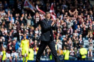 Can Craig Levein lead Hearts to Scottish Cup success? Picture: SNS