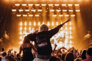 The TRNSMT festival is being staged for the third time on Glasgow Green this summer.