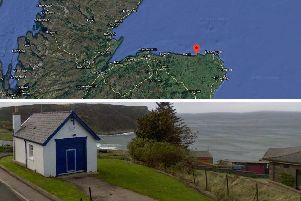 The old coastguard station is to go under the hammer. Pictures: Google