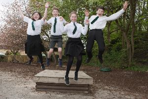 Pupils are ready to head up to big school.