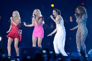 The Spice Girls got together to perform at the 2012 London Olympics (Photo: Getty Images)