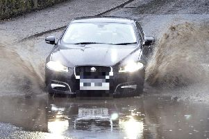 Motorists have been warned about surface water