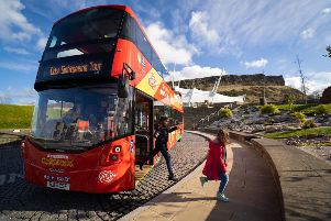 Edinburgh Bus Tours carry more than 700,000 passengers a year - 42 per cent more than a decade ago. Picture: Lothian