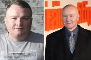 Author Irvine Welsh has paid an emotional tribute to his friend Bradley on the day of his funeral