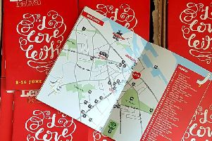 The Leith Festival programme tells you everything about what's on, including a handy map with all the venues (Photo: Leith Festival)
