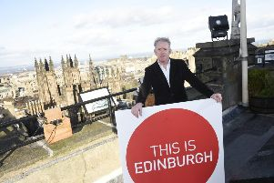 Pictured is John Donnelly (Chief Executive of Marketing Edinburgh). Pic: Greg Macvean
