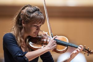 Nicola Benedetti has spoken out against cuts to musical education. Picture: John Devlin