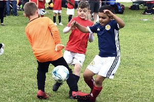 Participation in youth football helps boys and girls grow into responsible adults. Picture: Lisa Ferguson
