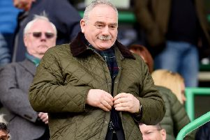 Rod Petrie will become the third Hibs chairman to hold the SFA presidency. Pic: SNS