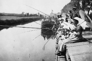 A peace garden is being dedicated to the Scotland's 'barge sisters', the nurses who transported seriously wounded soldiers in 'hospital barges' along the canals in France, Flanders, and later the Nile.